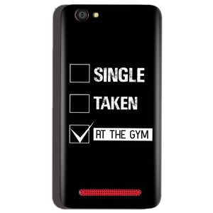 Reliance Lyf Flame 1 Mobile Covers Cases Single Taken At The Gym - Lowest Price - Paybydaddy.com