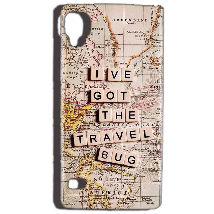 Reliance Lyf Flame 3 Mobile Covers Cases Live Travel Bug - Lowest Price - Paybydaddy.com