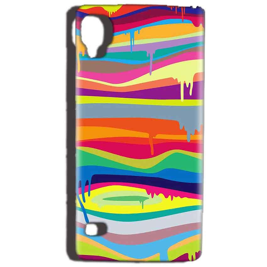 Reliance Lyf Flame 3 Mobile Covers Cases Melted colours - Lowest Price - Paybydaddy.com