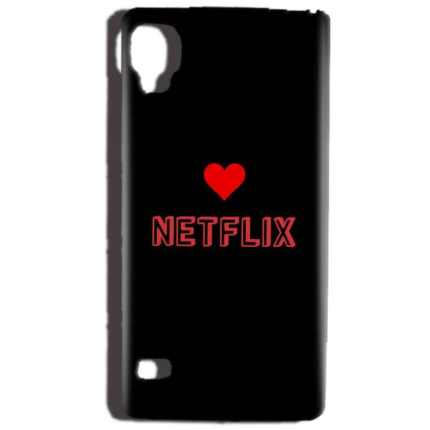 Reliance Lyf Flame 3 Mobile Covers Cases NETFLIX WITH HEART - Lowest Price - Paybydaddy.com