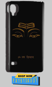 Reliance Lyf Flame 3 Mobile Covers Cases Om Namaha Gold Black - Lowest Price - Paybydaddy.com