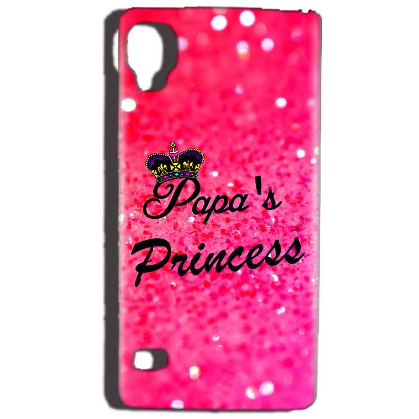 Reliance Lyf Flame 3 Mobile Covers Cases PAPA PRINCESS - Lowest Price - Paybydaddy.com