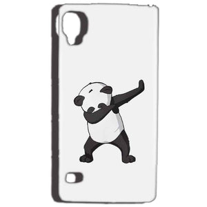 Reliance Lyf Flame 3 Mobile Covers Cases Panda Dab - Lowest Price - Paybydaddy.com