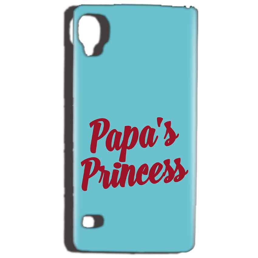 Reliance Lyf Flame 3 Mobile Covers Cases Papas Princess - Lowest Price - Paybydaddy.com