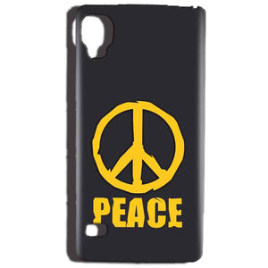 Reliance Lyf Flame 3 Mobile Covers Cases Peace Blue Yellow - Lowest Price - Paybydaddy.com