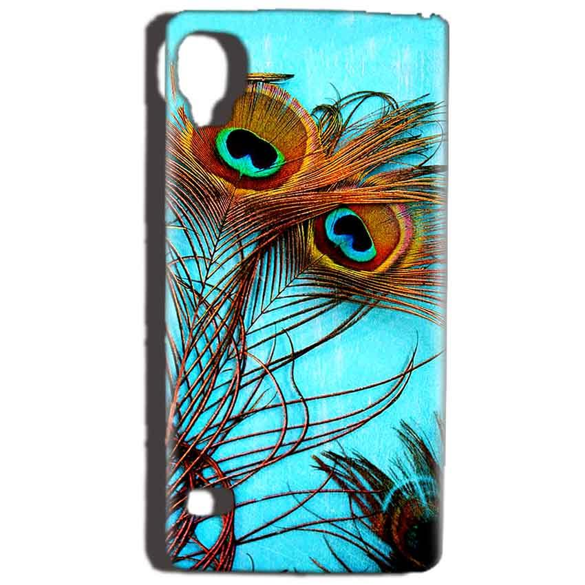 Reliance Lyf Flame 3 Mobile Covers Cases Peacock blue wings - Lowest Price - Paybydaddy.com