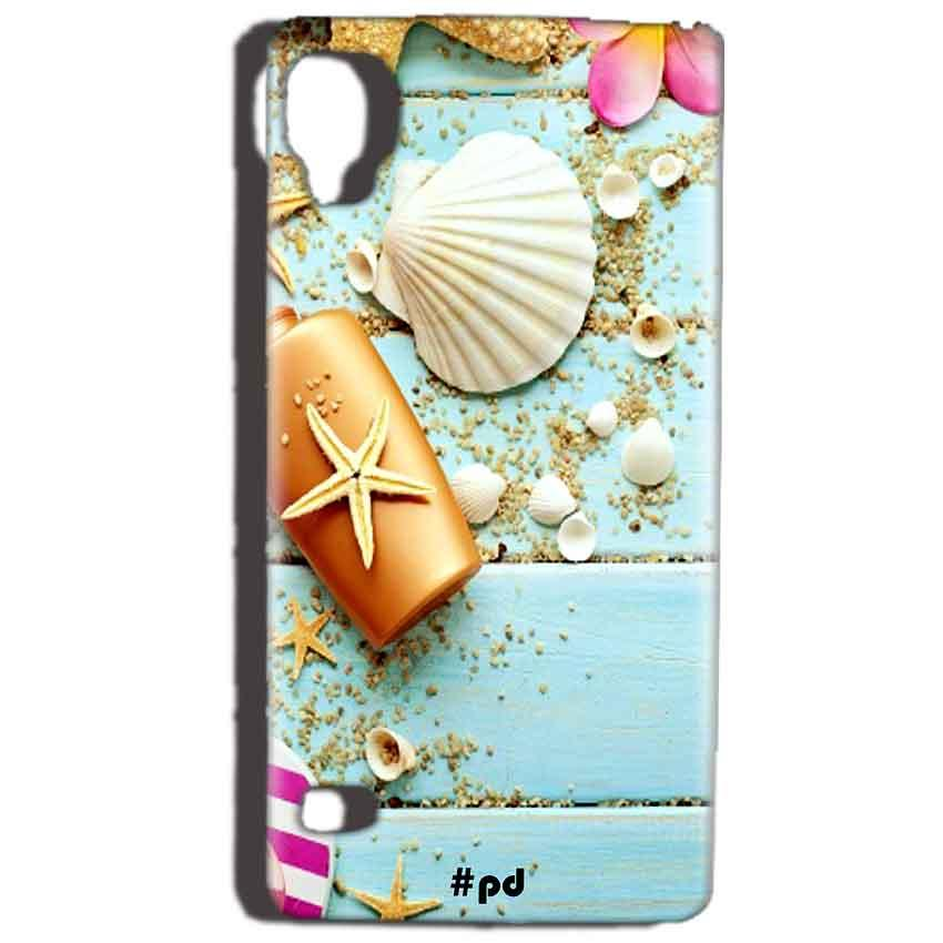 Reliance Lyf Flame 3 Mobile Covers Cases Pearl Star Fish - Lowest Price - Paybydaddy.com