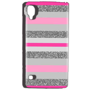 Reliance Lyf Flame 3 Mobile Covers Cases Pink colour pattern - Lowest Price - Paybydaddy.com