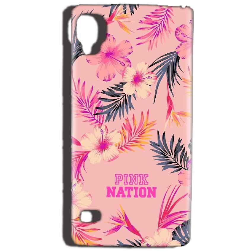 Reliance Lyf Flame 3 Mobile Covers Cases Pink nation - Lowest Price - Paybydaddy.com