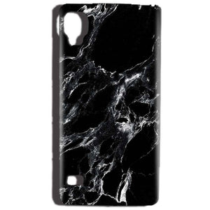 Reliance Lyf Flame 3 Mobile Covers Cases Pure Black Marble Texture - Lowest Price - Paybydaddy.com