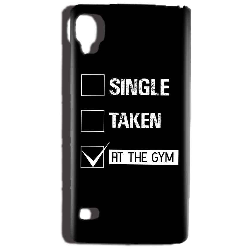 Reliance Lyf Flame 3 Mobile Covers Cases Single Taken At The Gym - Lowest Price - Paybydaddy.com