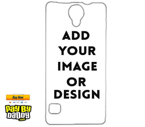 Customized Reliance Lyf Flame 4 Mobile Phone Covers & Back Covers with your Text & Photo