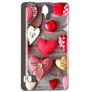Reliance Lyf Flame 4 Mobile Covers Cases Hearts- Lowest Price - Paybydaddy.com