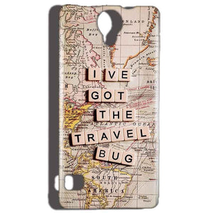 Reliance Lyf Flame 4 Mobile Covers Cases Live Travel Bug - Lowest Price - Paybydaddy.com