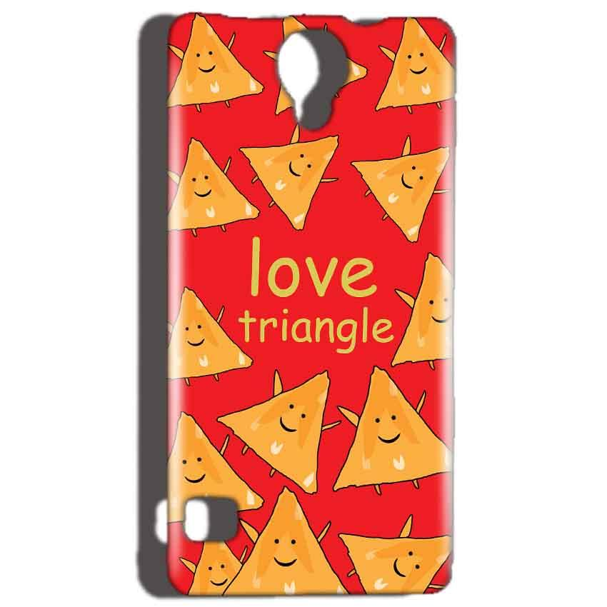 Reliance Lyf Flame 4 Mobile Covers Cases Love Triangle - Lowest Price - Paybydaddy.com