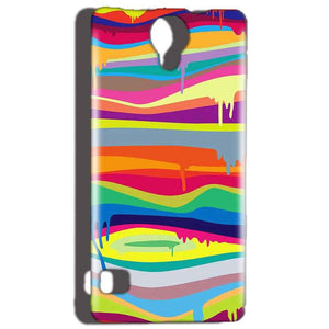 Reliance Lyf Flame 4 Mobile Covers Cases Melted colours - Lowest Price - Paybydaddy.com