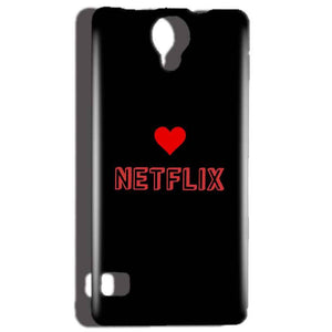 Reliance Lyf Flame 4 Mobile Covers Cases NETFLIX WITH HEART - Lowest Price - Paybydaddy.com