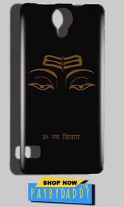 Reliance Lyf Flame 4 Mobile Covers Cases Om Namaha Gold Black - Lowest Price - Paybydaddy.com