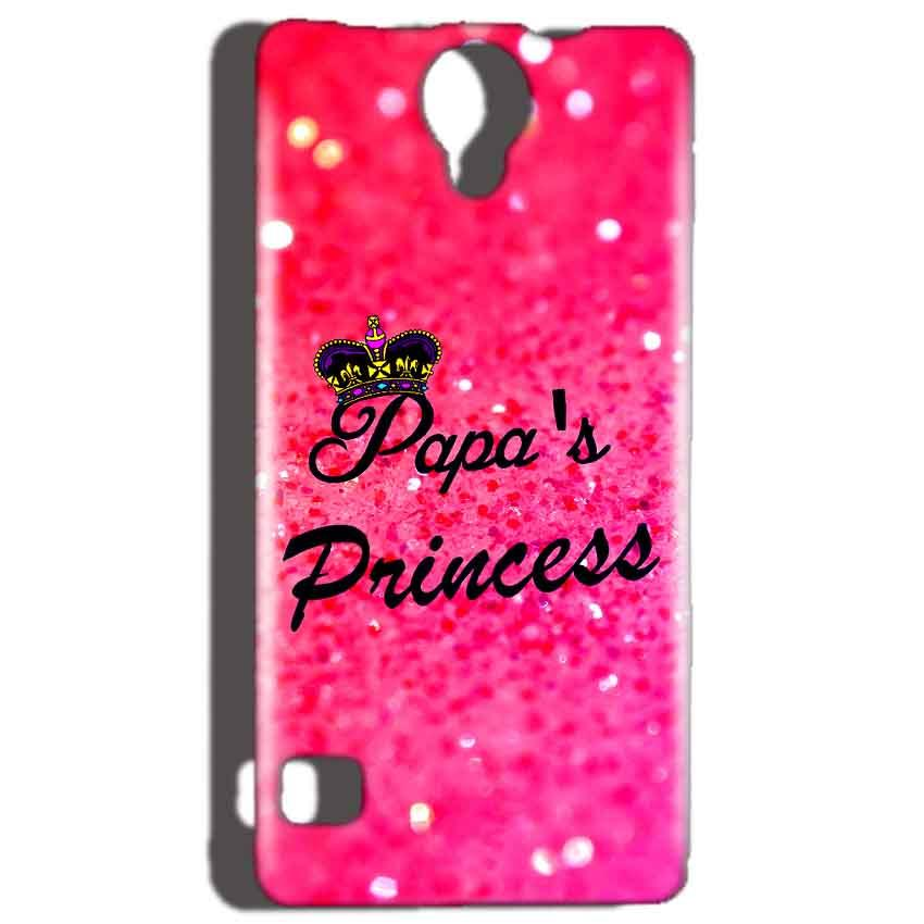 Reliance Lyf Flame 4 Mobile Covers Cases PAPA PRINCESS - Lowest Price - Paybydaddy.com