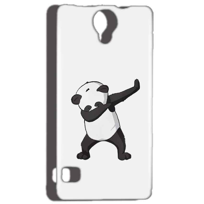Reliance Lyf Flame 4 Mobile Covers Cases Panda Dab - Lowest Price - Paybydaddy.com