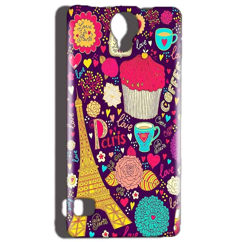 Reliance Lyf Flame 4 Mobile Covers Cases Paris Sweet love - Lowest Price - Paybydaddy.com