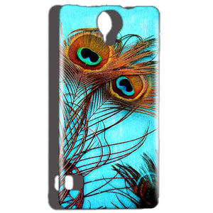 Reliance Lyf Flame 4 Mobile Covers Cases Peacock blue wings - Lowest Price - Paybydaddy.com