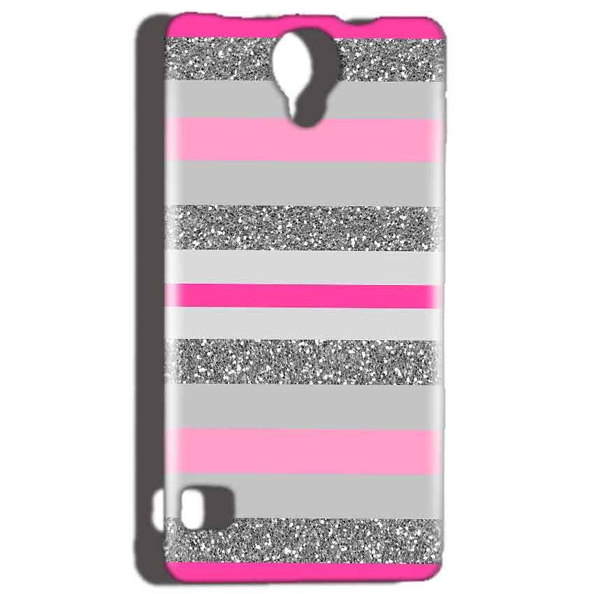 Reliance Lyf Flame 4 Mobile Covers Cases Pink colour pattern - Lowest Price - Paybydaddy.com