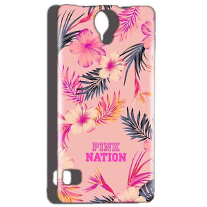 Reliance Lyf Flame 4 Mobile Covers Cases Pink nation - Lowest Price - Paybydaddy.com