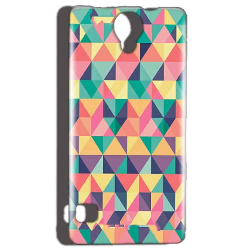 Reliance Lyf Flame 4 Mobile Covers Cases Prisma coloured design - Lowest Price - Paybydaddy.com