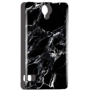 Reliance Lyf Flame 4 Mobile Covers Cases Pure Black Marble Texture - Lowest Price - Paybydaddy.com