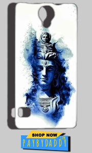 Reliance Lyf Flame 4 Mobile Covers Cases Shiva Blue White - Lowest Price - Paybydaddy.com