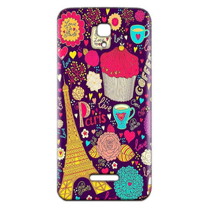 Reliance Lyf Flame 5 Mobile Covers Cases Paris Sweet love - Lowest Price - Paybydaddy.com
