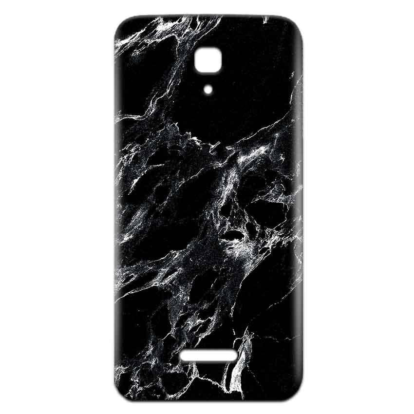 Reliance Lyf Flame 5 Mobile Covers Cases Pure Black Marble Texture - Lowest Price - Paybydaddy.com