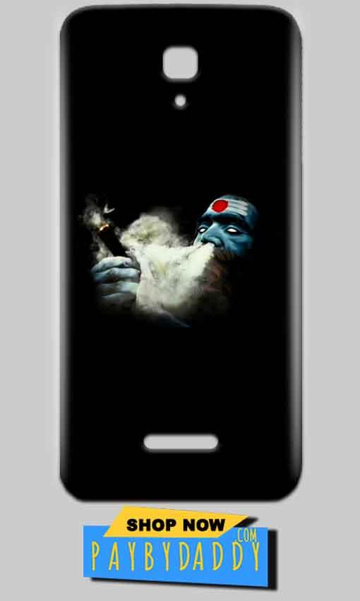 Reliance Lyf Flame 5 Mobile Covers Cases Shiva Aghori Smoking - Lowest Price - Paybydaddy.com