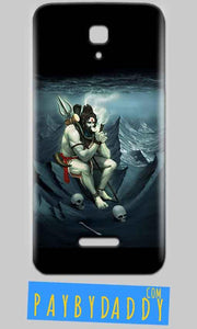 Reliance Lyf Flame 5 Mobile Covers Cases Shiva Smoking - Lowest Price - Paybydaddy.com