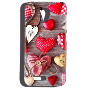 Reliance Lyf Flame 6 Mobile Covers Cases Hearts- Lowest Price - Paybydaddy.com