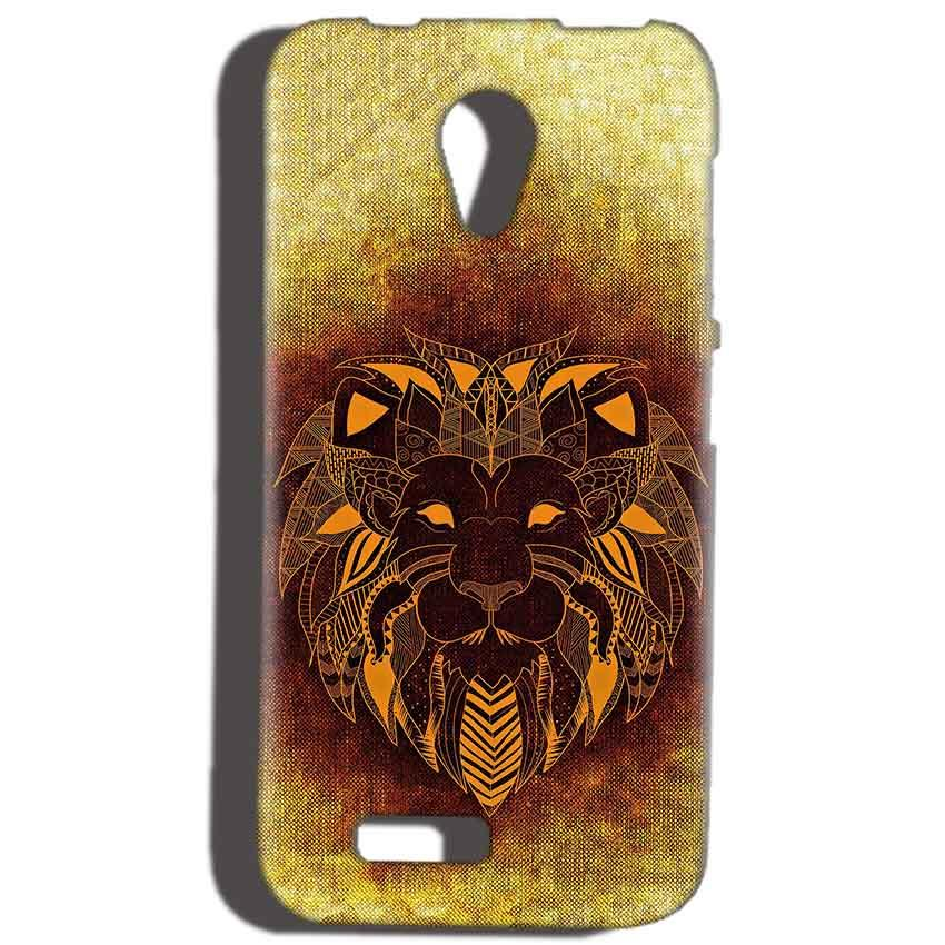 Reliance Lyf Flame 6 Mobile Covers Cases Lion face art - Lowest Price - Paybydaddy.com