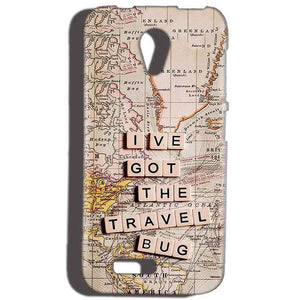 Reliance Lyf Flame 6 Mobile Covers Cases Live Travel Bug - Lowest Price - Paybydaddy.com