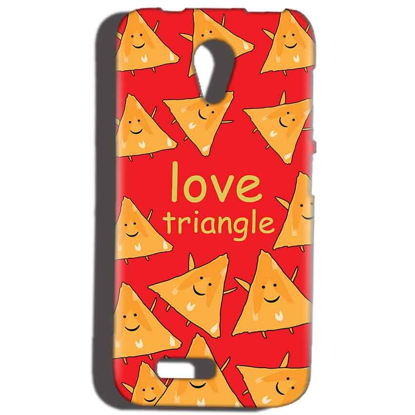 Reliance Lyf Flame 6 Mobile Covers Cases Love Triangle - Lowest Price - Paybydaddy.com
