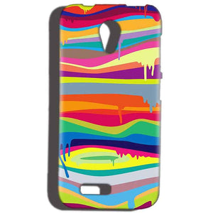 Reliance Lyf Flame 6 Mobile Covers Cases Melted colours - Lowest Price - Paybydaddy.com