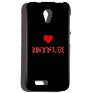 Reliance Lyf Flame 6 Mobile Covers Cases NETFLIX WITH HEART - Lowest Price - Paybydaddy.com