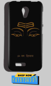 Reliance Lyf Flame 6 Mobile Covers Cases Om Namaha Gold Black - Lowest Price - Paybydaddy.com
