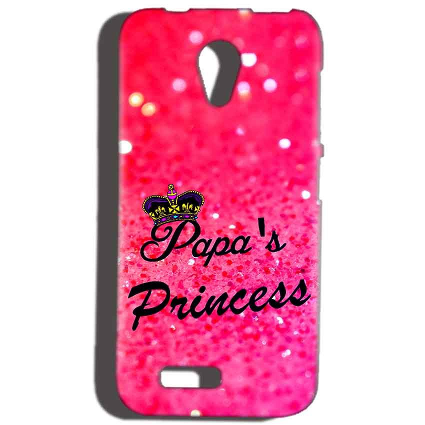 Reliance Lyf Flame 6 Mobile Covers Cases PAPA PRINCESS - Lowest Price - Paybydaddy.com