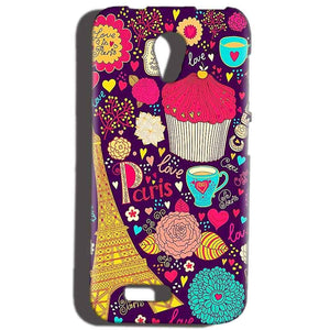 Reliance Lyf Flame 6 Mobile Covers Cases Paris Sweet love - Lowest Price - Paybydaddy.com