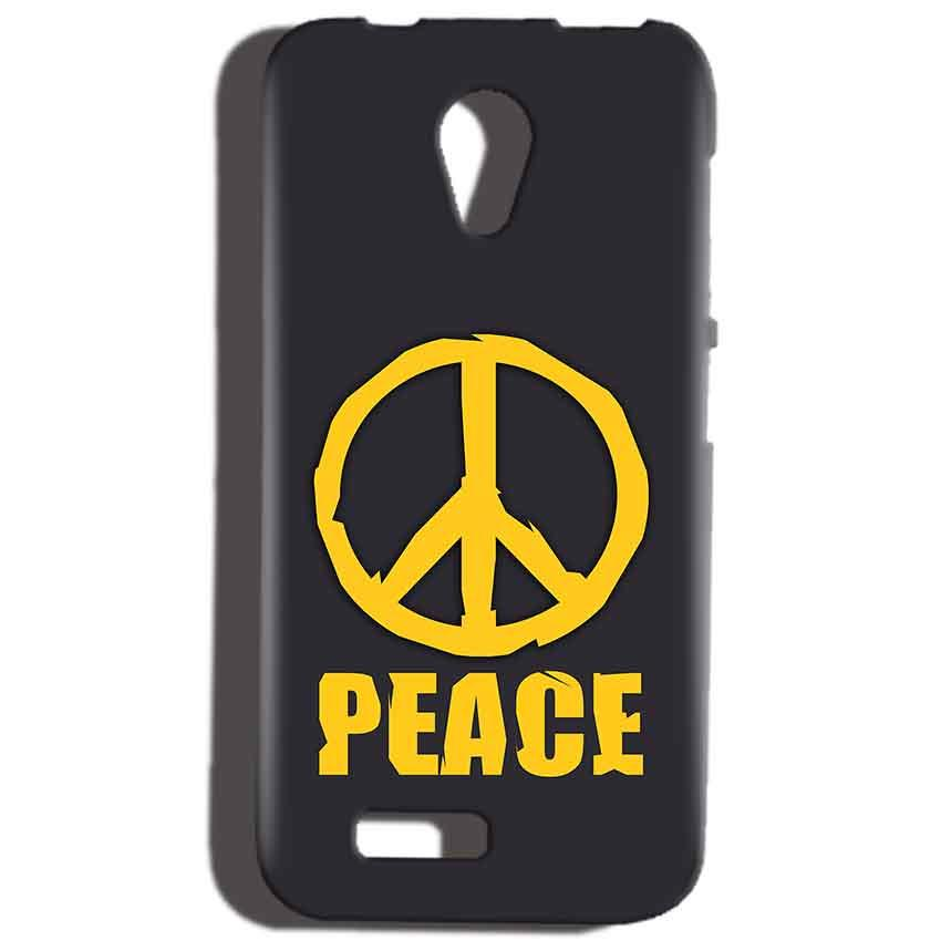 Reliance Lyf Flame 6 Mobile Covers Cases Peace Blue Yellow - Lowest Price - Paybydaddy.com