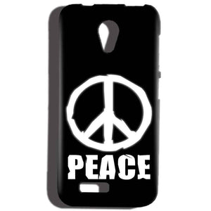 Reliance Lyf Flame 6 Mobile Covers Cases Peace Sign In White - Lowest Price - Paybydaddy.com