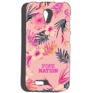 Reliance Lyf Flame 6 Mobile Covers Cases Pink nation - Lowest Price - Paybydaddy.com