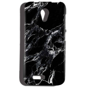 Reliance Lyf Flame 6 Mobile Covers Cases Pure Black Marble Texture - Lowest Price - Paybydaddy.com