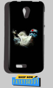 Reliance Lyf Flame 6 Mobile Covers Cases Shiva Aghori Smoking - Lowest Price - Paybydaddy.com