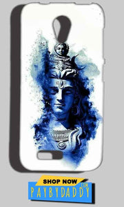 Reliance Lyf Flame 6 Mobile Covers Cases Shiva Blue White - Lowest Price - Paybydaddy.com